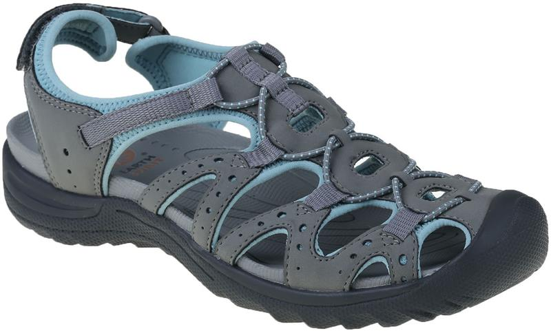 Earth Spirit 30259 Midway Grey/ Aqua sandal.  Sizes - 4 to 8   Price - £45.00  SALE £ 29.00