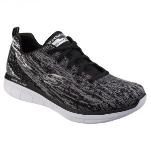 Skechers SK12383 Synergy 2  Black/ Grey Lace.   Sizes - 4 to 7   Price - £67.00