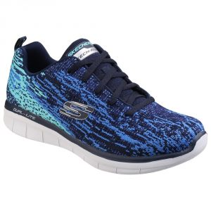 Skechers SK12383 Synergy 2 Navy/ Blue Lace.   Sizes - 5 to 8   Price - £67.00