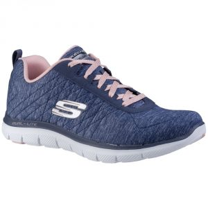 Skechers SK12753 Flex Appeal 2 Navy Lace.   Sizes - 5 to 7    Price - £65.00