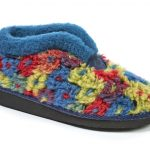 Moshulu 150012 California Navy multi Boot Slipper.   Size - Sold Out.    Price - £35
