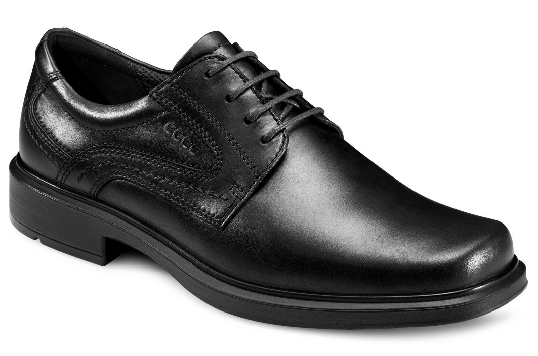 Ecco Mens 050144 Helsinki Black Lace Shoe. Sizes - 41 to 46 Price - £110.00 NOW £89.00