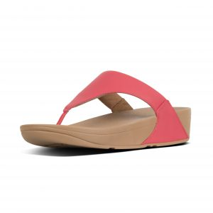 FitFlop I88-695 Lulu Passion Red Leather Toepost.   Sizes - 4 to 7   Price - £55.00  SALE £49.00