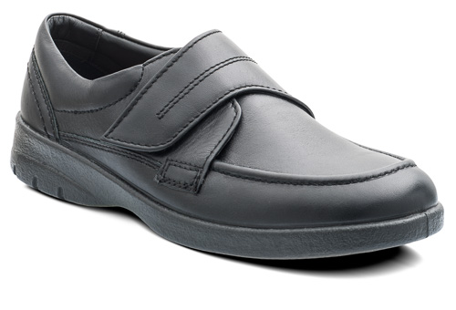 Padders 635N10 Solar Black Velcro Strap ( Wide Fit )  Sizes - 7 to 12  Price - £69.00