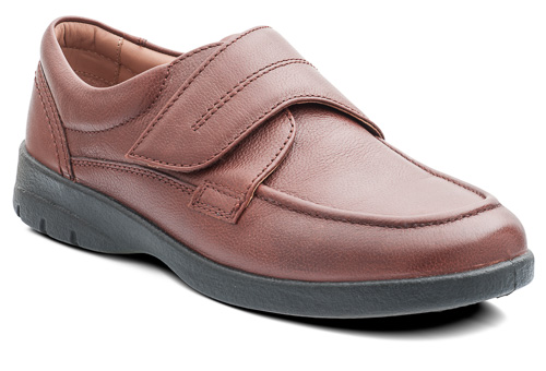 Padders 635N89 Solar Dark Tan Velcro Strap ( Wide Fit ).  Sizes - 7 to 10  Price - £69.00