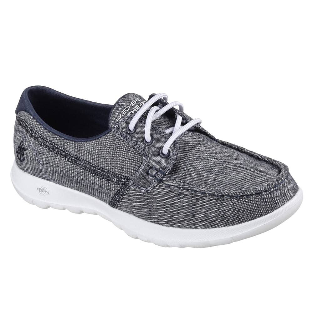 Skechers SK15433 Go Walk Lite Denim Elastic Lace.   Size - 7 only.   Price - £59 Now £39