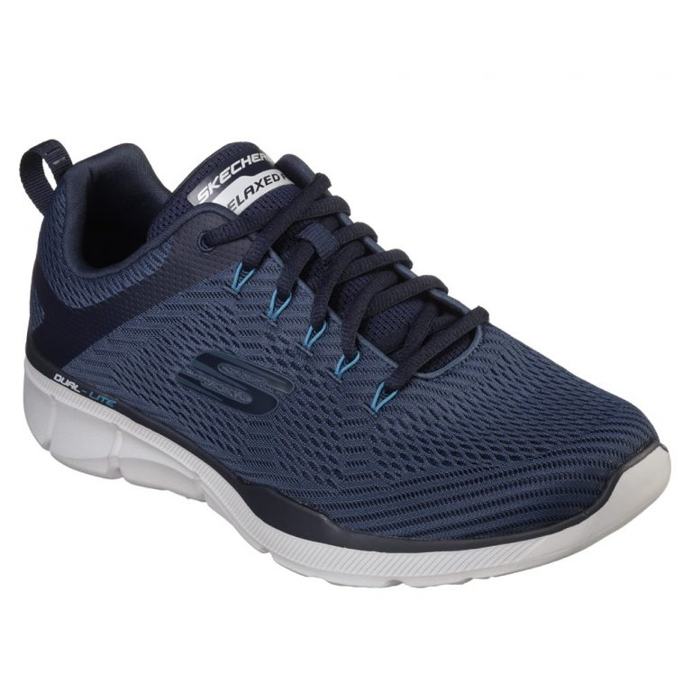 Skechers Mens SK52927 Equaliser 3 Navy Lace ( Wide Fit ).  Sizes - 7 to 11  Price - £67.00
