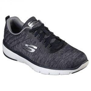 Skechers Mens SK52956 Flex 3 Navy.  Sizes - 7 to 10   Price - £67.00