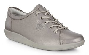 Ecco 206503 Soft 2 Stone Metallic lace shoe Sizes - 37 to 41 Price - £85.00
