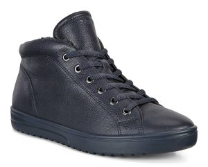 Ecco 235343 Fara Night sky navy lace boot Sizes - 37 to 41 Price - £110.00 NOW £89.00
