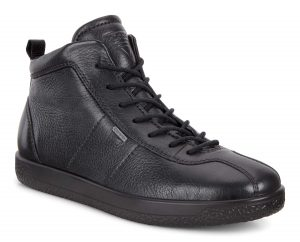 Ecco 400663 Soft 1 Black waterproof lace boot Sizes - 37 to 41 Price - £120.00 NOW £99.00
