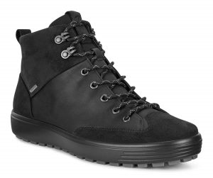 Ecco Mens 450114 Soft 7 Tred Black waterproof lace boot Sizes - 41 to 45 Price - £140.00 NOW £119.00
