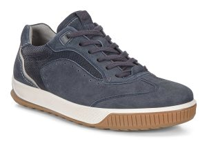Ecco Mens 501804 Byway Tred Navy suede lace shoe Sizes - 41 to 45 Price - £110.00 NOW £89.00