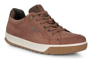Ecco Mens 501824 Byway Tred Brandy waterproof lace shoe Sizes - 41 to 45 Price - £120.00 NOW £99.00