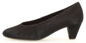 Gabor 31.100.16 Gambit Navy suede court shoe Sizes - 4.5 to 7 Price - £89.00 NOW £79.00
