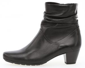 Gabor 32.823.57 Kingston Black leather zip ankle boot Sizes - 4 to 7 Price - £99.00 NOW £79.00