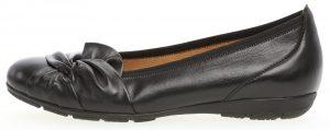 Gabor 34.167.27 Claredon black leather twist pump Sizes - 4 to 8 Price - £89.00