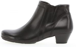 Gabor 35.638.27 Heritage Black leather zip ankle boot Sizes - 5 only Price - £89.00 NOW £75.00