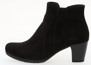 Gabor 35.680.47 Amusing Black microvelour zip ankle boot Sizes - 4 to 7 Price - £75.00 NOW £59.00