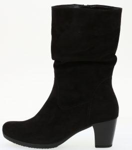 Gabor 35.684.47 Adele Black microvelour mid zip boot Sizes - 4.5 to 7 Price - £95.00 NOW £79.00