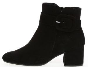 Gabor 35.816.17 Capri Black suede buckle zip boot Sizes - 4.5 to 7 Price - £99.00 NOW £79.00