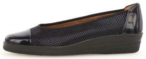 Gabor 36.402.86 Petunia Navy patent multi wedge shoe Sizes - 4 to 7 Price - £65.00 NOW £55.00
