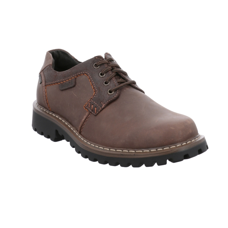 Josef Seibel Mens Chance 08 Brown Lace Shoe Sizes - 41 to 45 Price - £99