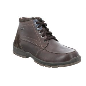 Josef Seibel Mens Lenny 50 Brown leather waterproof lace boot Sizes - 41 to 45 Price - £95.00 NOW £79.00