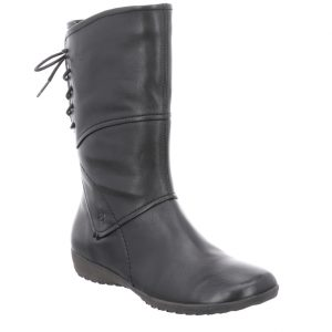 Josef Seibel Naly 07 Black soft leather Mid lace back zip boot Sizes 37 to 42 Price - £110.00 NOW £89.00