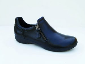 Josef Seibel Naly 32 Black soft leather zip shoe Sizes - 37 to 41 Price - £85.00 NOW £75.00