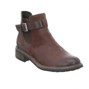 Josef Seibel Selena 17 Brown buckle zip ankle boot Sizes - 37 to 41 Price - £95.00 NOW £79.00