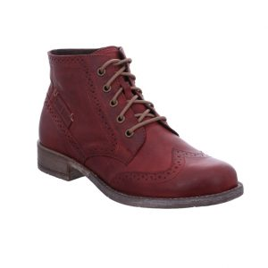 Josef Seibel Sienna 74 Bordo red lace brogue boot Sizes - 37 to 42 Price - £95.00 NOW £79.00