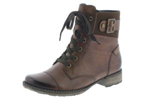 Remonte D4368-25 Tan Brown lace zip boot  Sizes - 37 to 42   Price - £82.00 NOW £69.00