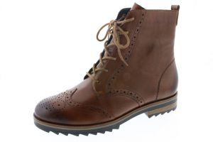 Remonte R2284-22 Chestnut brogue lace zip boot  Sizes - 37 to 41  Price - £87.00 NOW £69.00