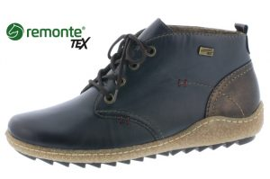 Remonte R4783-14 Navy waterproof lace boot  Sizes - 37 to 42  Price - £72.00 NOW £59.00