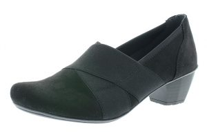 Rieker 41772-00 Black Microstretch heel shoe Sizes - 37 to 42 Price - £52.00 NOW £45.00