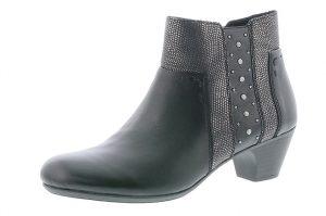 Rieker 70571-00 Black stud zip boot Sizes - 37 to 42 Price - £65.00 NOW £55.00