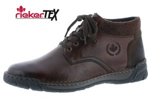 Rieker Mens B0348-25 Havanna waterproof lace ankle boot  Sizes - 41 to 45  Price - £77.00 NOW £69.00