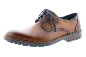Rieker B1321-25 Nut tan lace shoe Sizes - 41 to 45 Price - £77.00 NOW £69.00