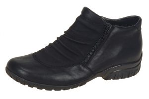 Rieker L4691-01 Black twin zip boot Sizes - 37 to 42 Price - £57.00 NOW £49.00