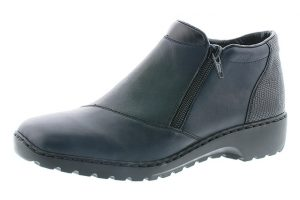 Rieker L6091-15 Navy fur lined twin zip boot Sizes - 37 to 41 Price - £59.00 NOW £49.00