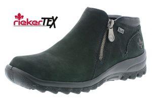 Rieker L7160-00 Black waterproof twin zip low boot Sizes - 37 to 41 Price - £65.00 NOW £59.00