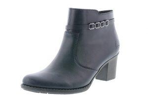 Rieker L7678-14 Navy zip heel boot Sizes - 37 to 41 Price - £59.00 NOW £49.00