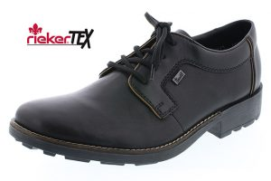 Rieker Mens 16024-00 Black Waterproof lace shoe Sizes - 41 to 46 Price - £69.00 NOW £59.00