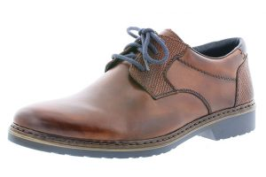 Rieker Mens 16541-25 Nut tan lace shoe Sizes - 41 to 47 Price - £72.00 NOW £65.00