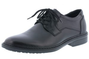 Rieker Mens 17627-00 Black leather lace shoe  Sizes - 40 to 46  Price - £67.00 NOW £59.00