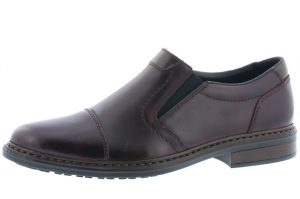 Rieker Mens 17659-35 Dark brown casual shoe  Sizes - 41 to 45  Price - £65.00 NOW £55.00