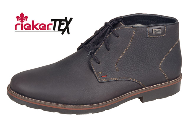 Rieker Mens 35310-25 Brown Tex lace boot   Size - 46 only.   Price - £77 Now £49