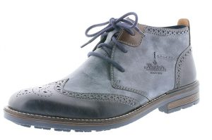 Rieker Mens B1343-14 Navy blue brogue boot Sizes - 41 to 46 Price - £65.00 NOW £55.00