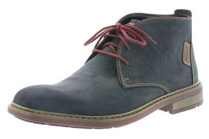 Rieker Mens F1210-45 Navy red lace boot Sizes - 41 to 45 Price - £77.00 NOW £69.00